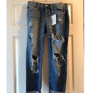 NWT KanCan ripped jeans